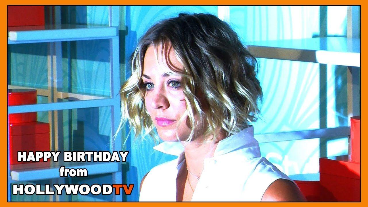 Happy Birthday Kaley Cuoco - Hollywood TV