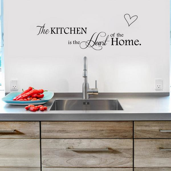 Kitchen Letters For Wall Kitchen Letters Love Wall Sticker Living Room Home Decoration