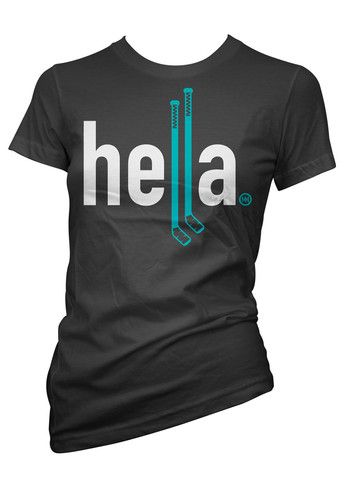 detailed look 77980 27218 HELLA HOCKEY WOMANS for the San Jose Sharks fan #Tealbabes ...