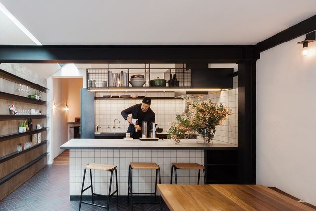 Double life house by breathe architecture surry hills sydney 110sqm renovation small