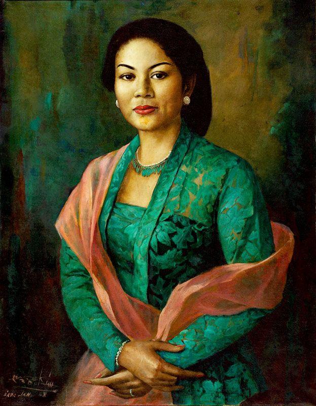 Épinglé sur Indonesian Painting