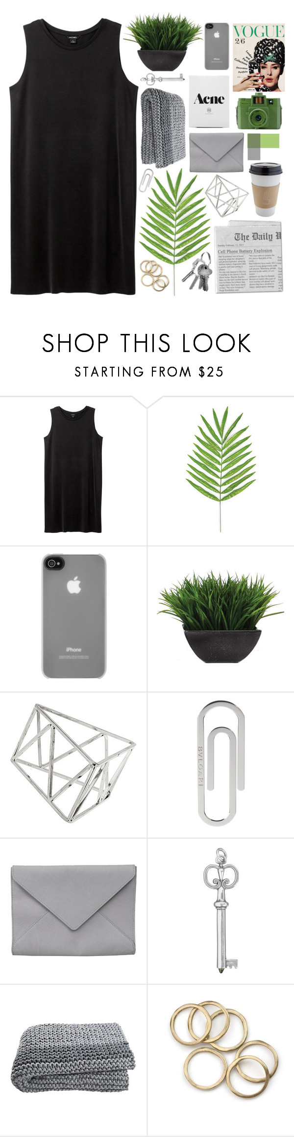 """☾boys seem to like the girls who laugh at everything"" by tumbling-through-tumblr ❤ liked on Polyvore featuring Monki, Incase, Lux-Art Silks, Guide London, Topshop, Bulgari and Ann Demeulemeester"