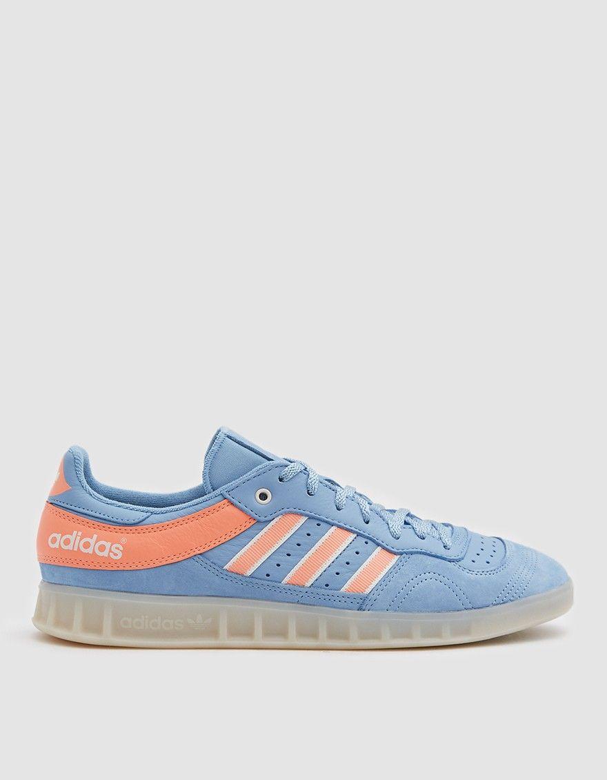 buy popular 74766 e3565 Handball Top Oyster Sneaker in Ash BlueChalk Coral