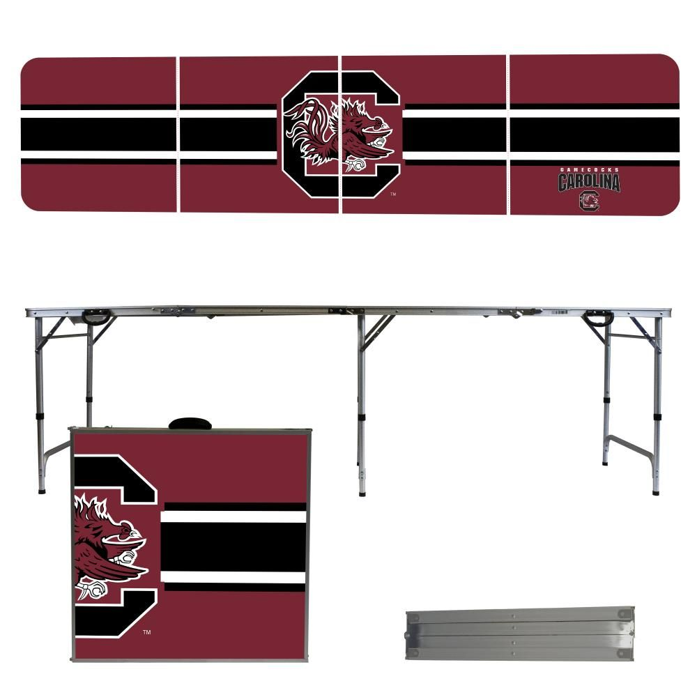 South Carolina Gamecocks Beer Pong Table Tailgate Table Folding Table Durable Table