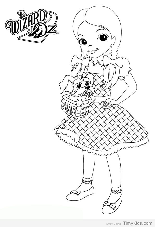 http://timykids.com/dorothy-wizard-of-oz-coloring-pages.html ...