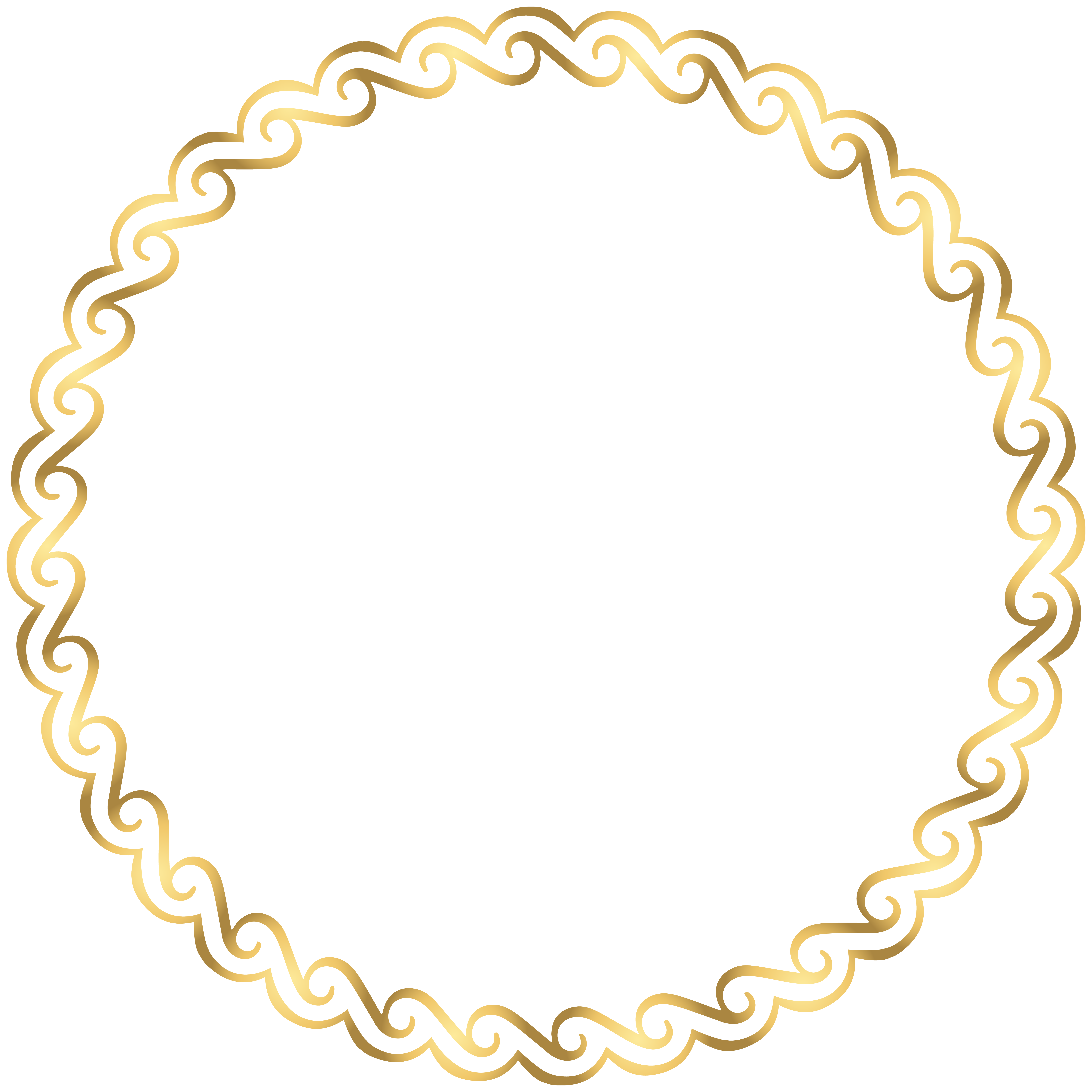 Round Border Deco Frame Png Clip Art Gallery Yopriceville High Quality Images And Transparent Png Free Cl Molduras Redondas Brasao Png Brasao Para Convite