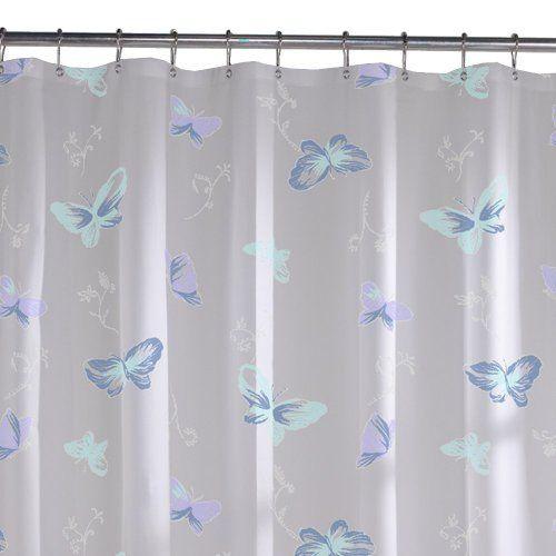 Maytex Butterfly Peva Shower Curtain Blue By Maytex Mills Http