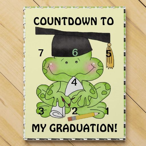 Chocolate Countdown Calendar to Kindergarten Graduation