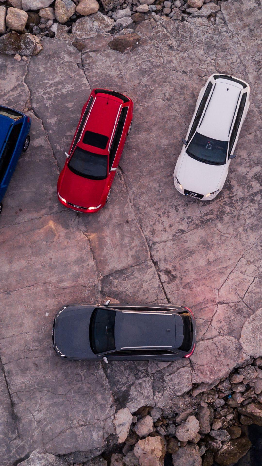Aerial view, Audi RS4 Wallpaper Audi, Audi rs4, Samsung