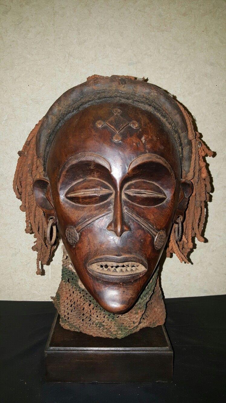 Chokwe Mask, Congo