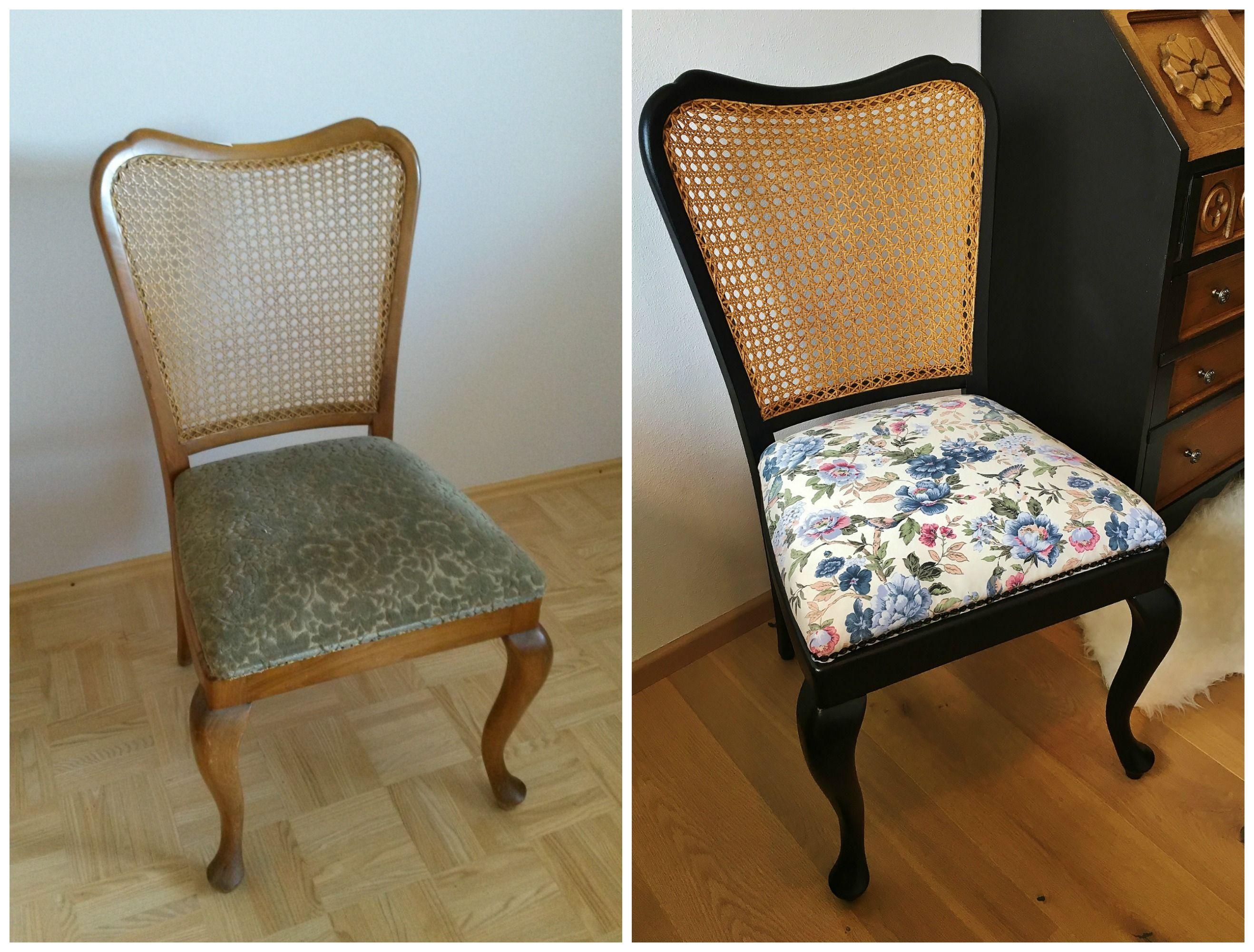 Stuhl im Jugendstil, Möbel aufbereiten, Möbel alt mach neu, Möbel ...