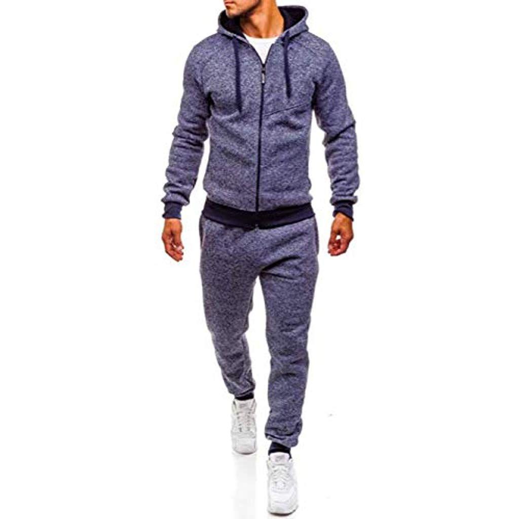 Herren Trainingsanzug ellesse Jogging Anzug Sportanzug Kapuzenpullis Hose+Hoodie