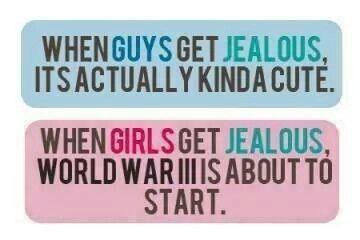 When girls get jealous