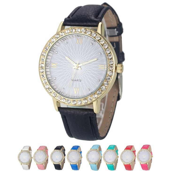 Glossy Women Leather Quartz Watch //Price: $8.99 & FREE Shipping //     #love #instagood #me #cute #tbt #photooftheday #instamood #iphonesia #tweegram #picoftheday #igers #girl #beautiful #instadaily #summer #instagramhub #iphoneonly #follow #igdaily #bestoftheday #happy #picstitch #tagblender #jj #sky #nofilter #fashion #followme #fun #sun #SuperBowl #Phone iHeartAwards #Nice #photo
