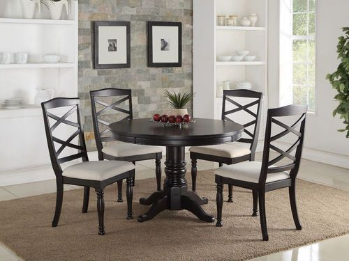 5 Pc Poundex Espresso Dining Room Table Set F2317  Products Brilliant Espresso Dining Room Table Sets Design Decoration