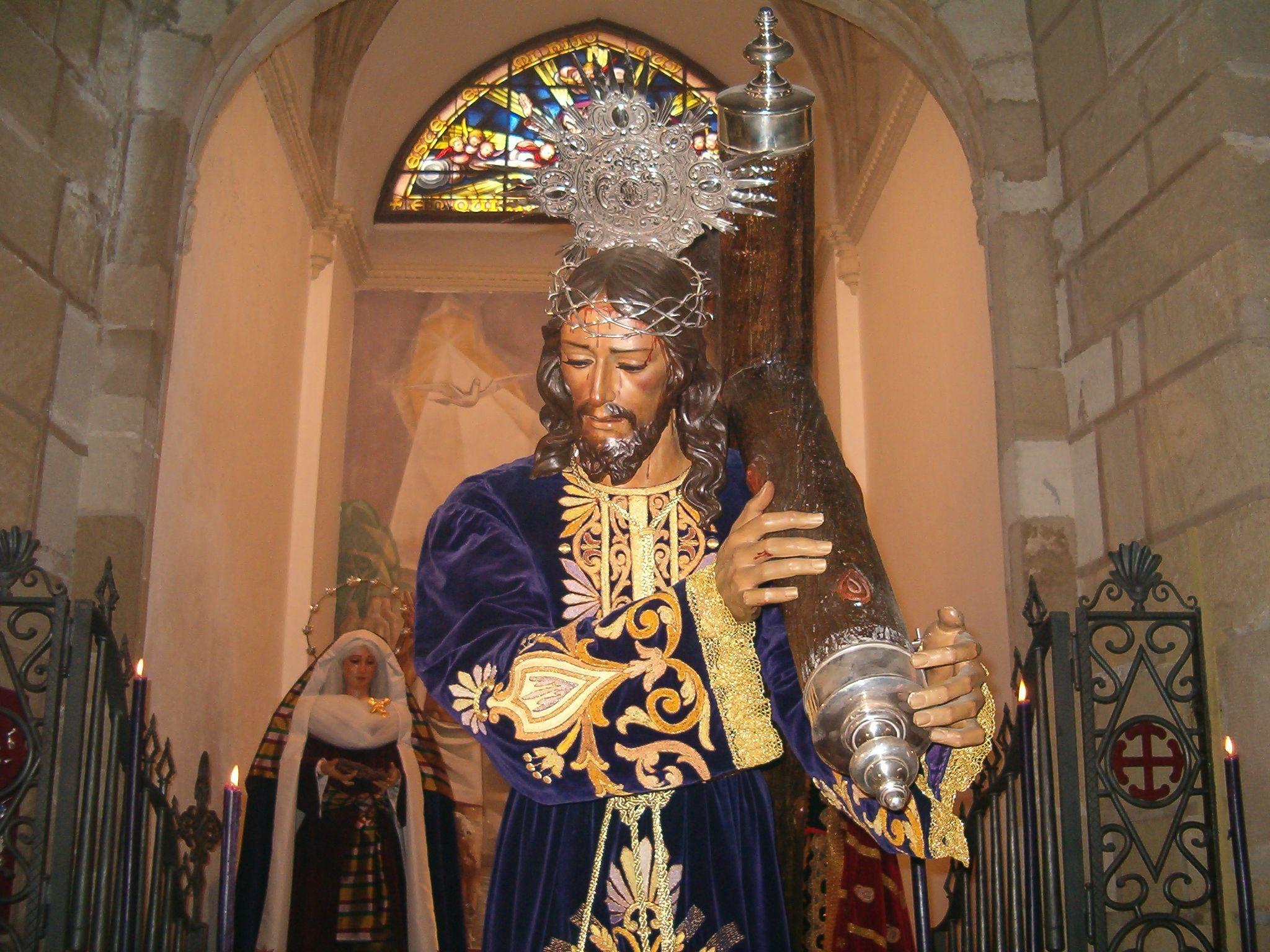 besapié de la cofradia de Jesús Nazareno de Martos