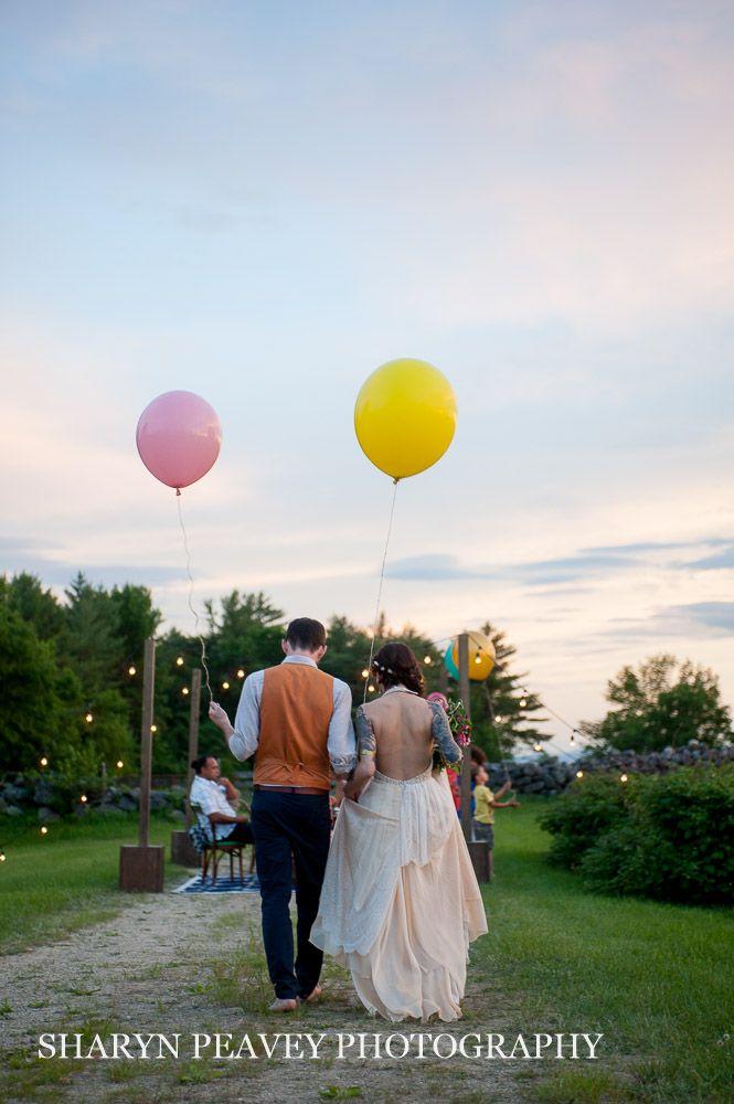 Summer Solstice Wedding in Maine | Sharyn Peavey ...