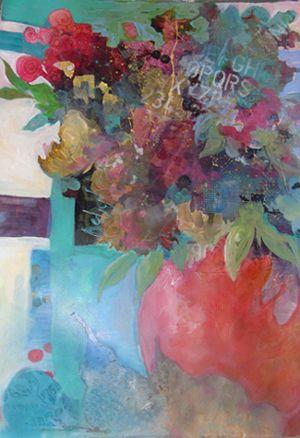 Melody Orr: Red Vase