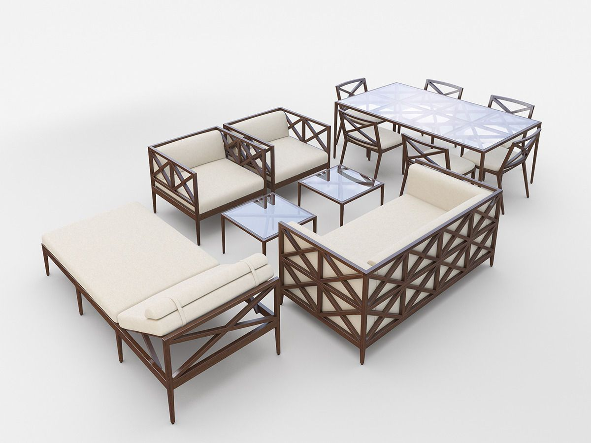 azimuth furniture collection 3d model