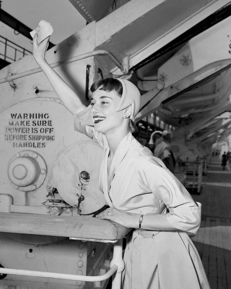 Audrey Hepburn, June 1952