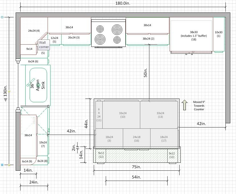 11 x 11 kitchen floor plans is a 10 x15 kitchen small for u shape kitchens 8962
