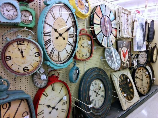 Hobby Lobby Make An XL Clock Out Of Distressed Wood Painted Numbers Stencil And A Kit