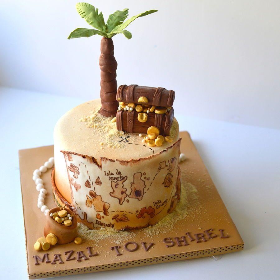 Treasure Island Cake Island Cake Treasure Map Cake Cake