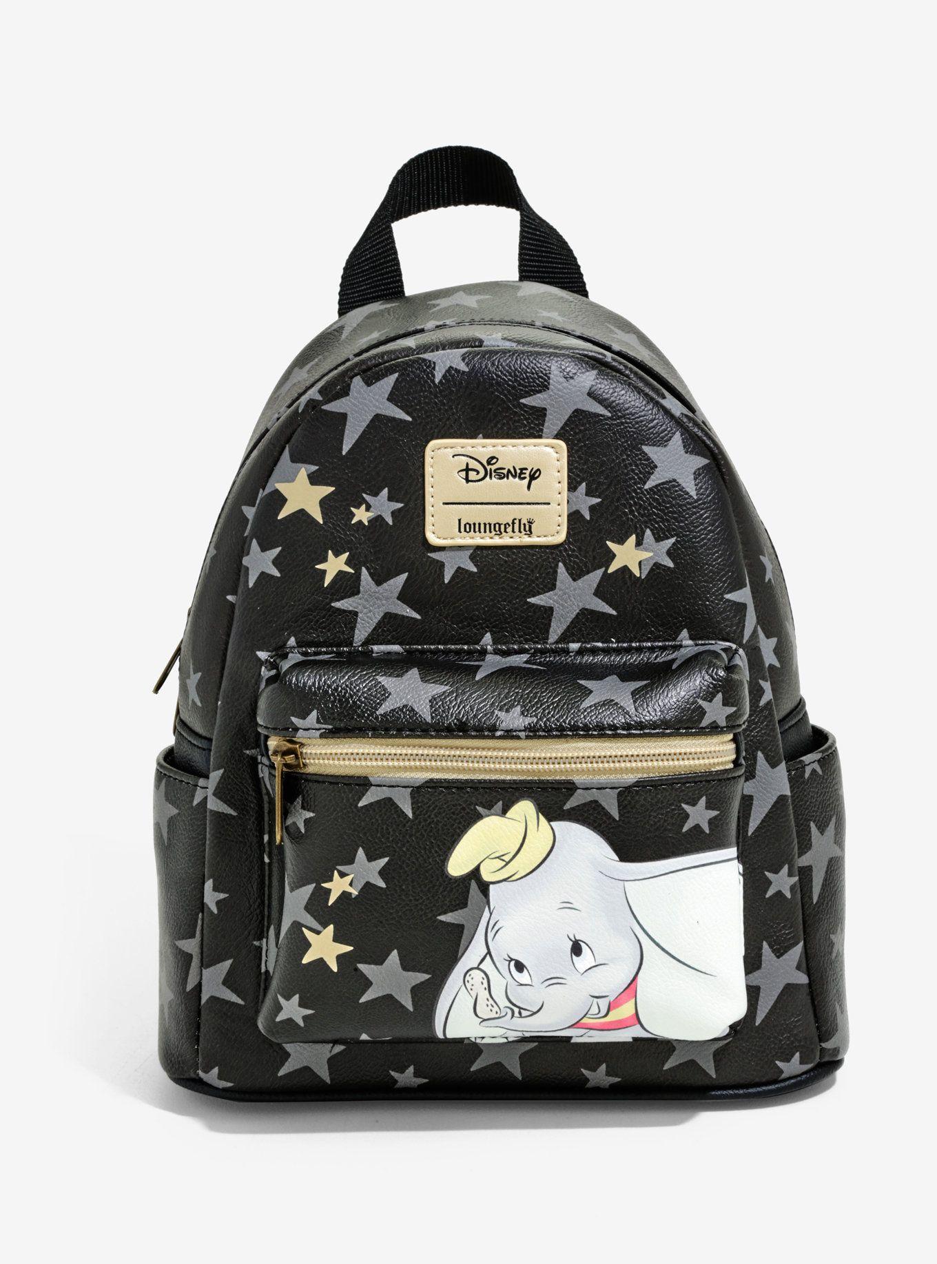 Loungefly Disney Dumbo Star Mini Backpack Mini Backpack Disney Backpacks Disney Purse