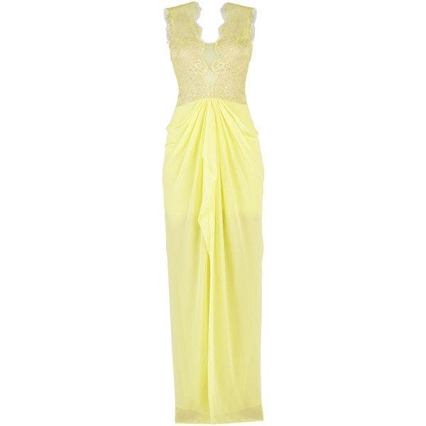 Bcbg brandy yellow dress