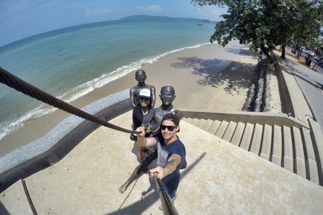 Ao Nang Beach: Not the Most Ideal, but Very Scenic