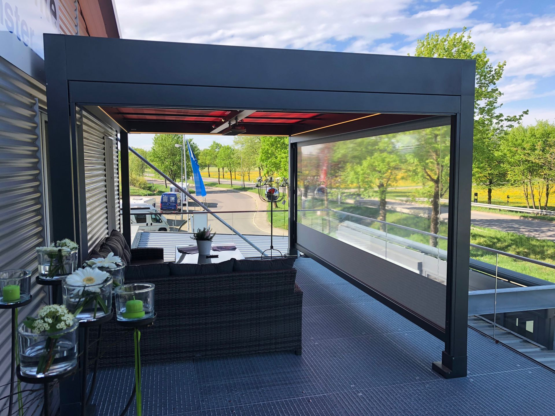 Freestanding Awnings Open Space Outdoor Living Awning