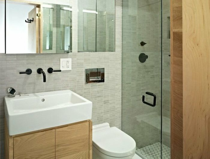 Comment aménager une salle de bain 4m2? | salle de douche +wc ...