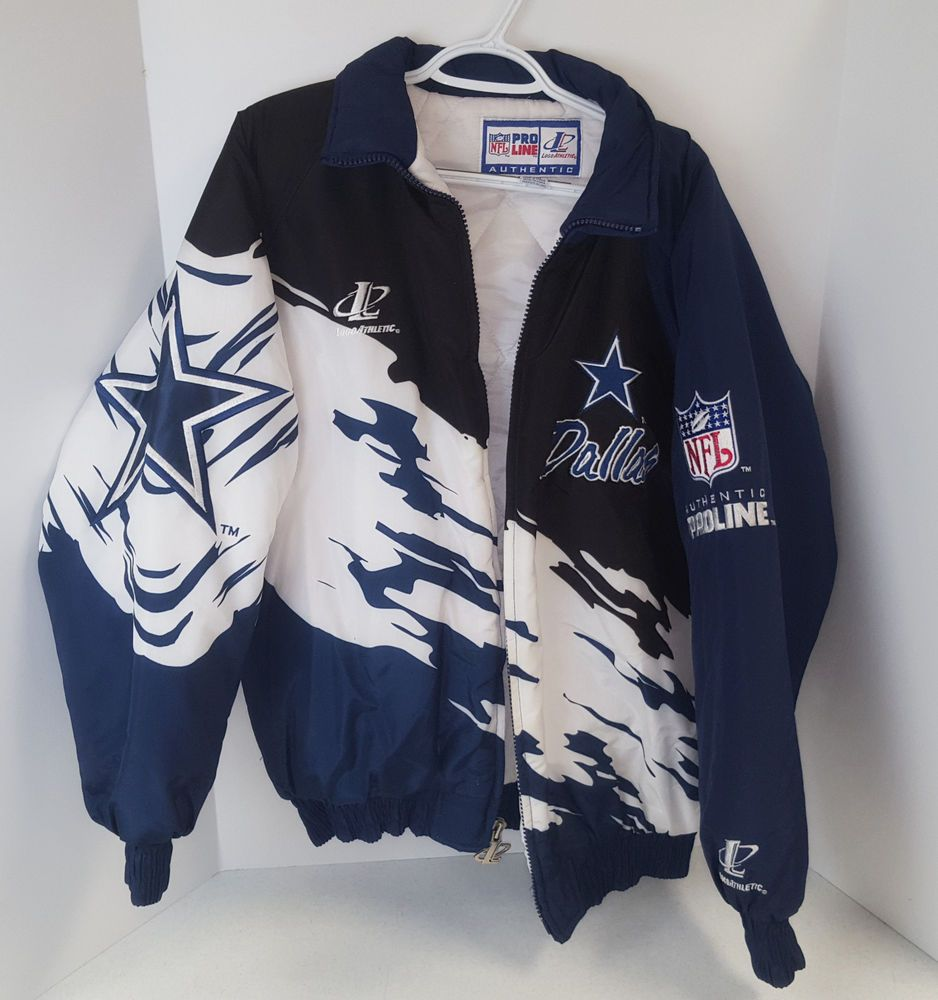 low cost 8181f 5f5f8 Vintage Dallas Cowboys Logo Athletic Puffer Authentic Pro ...