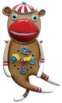 Allen Designs Sock it To Me Clock