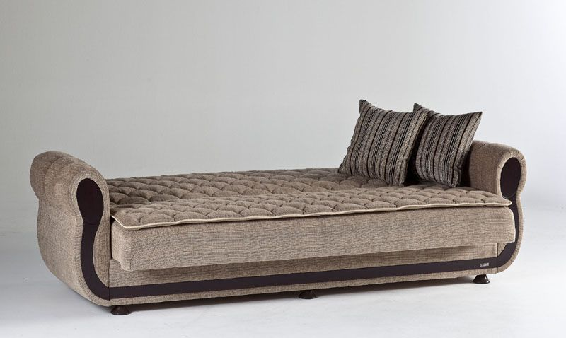 Argos Zilkade Light Brown Sofa Bed By Sunset