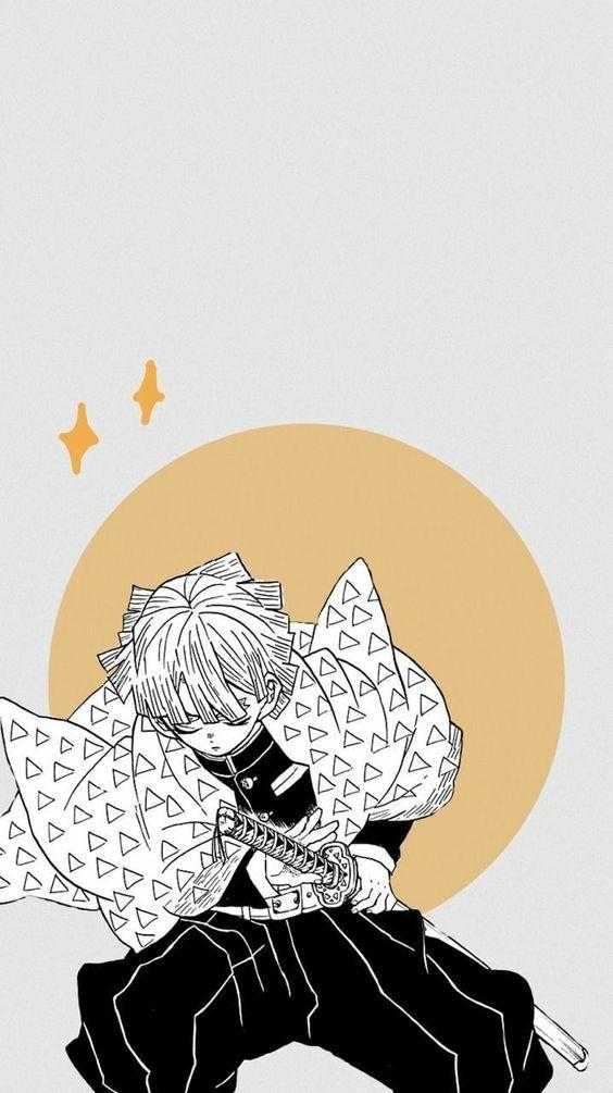 Desenhando Nezuko (Kimetsu no Yaiba) Demon Slayer