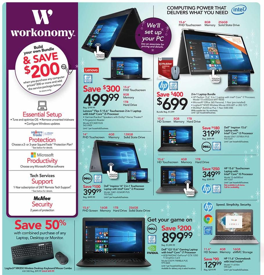 Office Depot and OfficeMax Black Friday 2018 Ads Scan