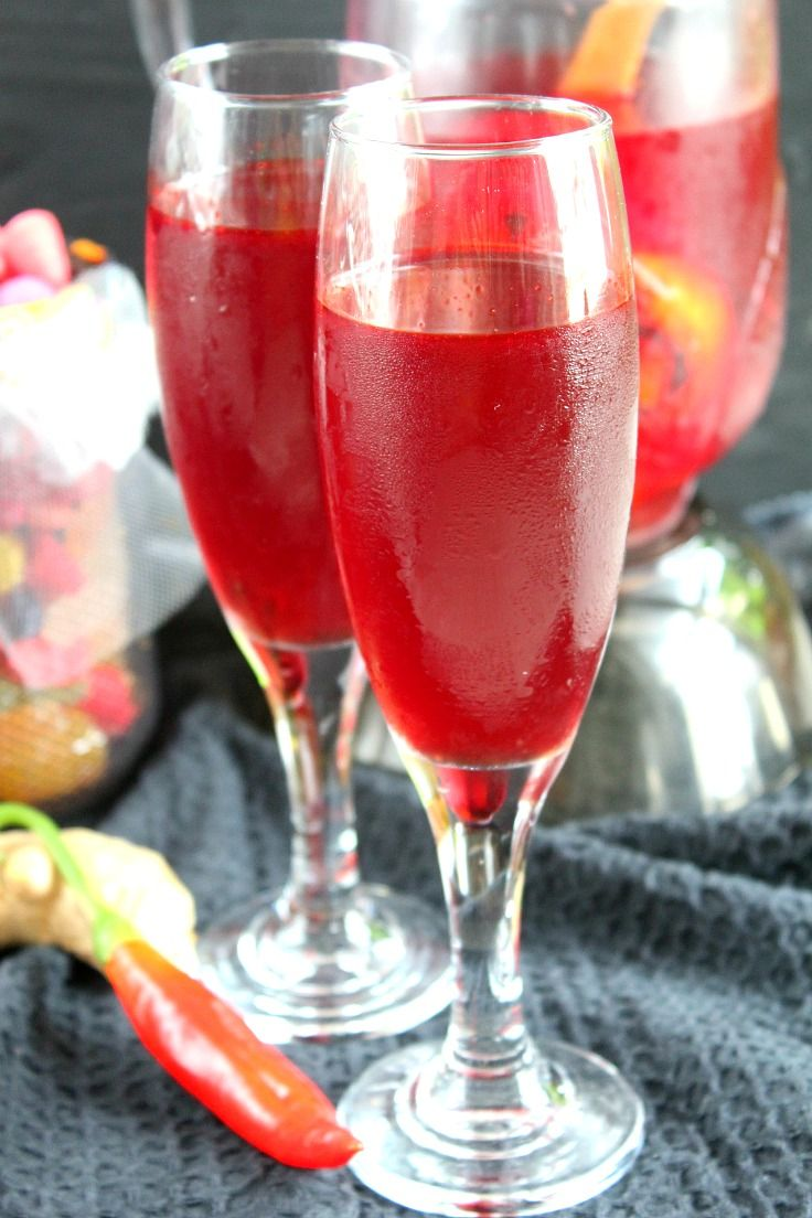 draculas blood punch non alcoholic halloween is all about getting spooky and what better - Halloween Party Punch Alcohol