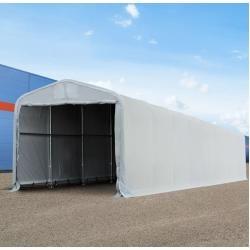 Photo of Teltgarasje 4x24m Pvc 550 g / m² grått vanntett garasjetelt Toolport