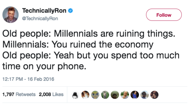 100 Jokes And Memes About Millennials That Will You Laughing And Crying For Hours Millennial Memes 100 Jokes Memes