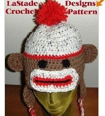 Wonderful Sock Monkey Crochet