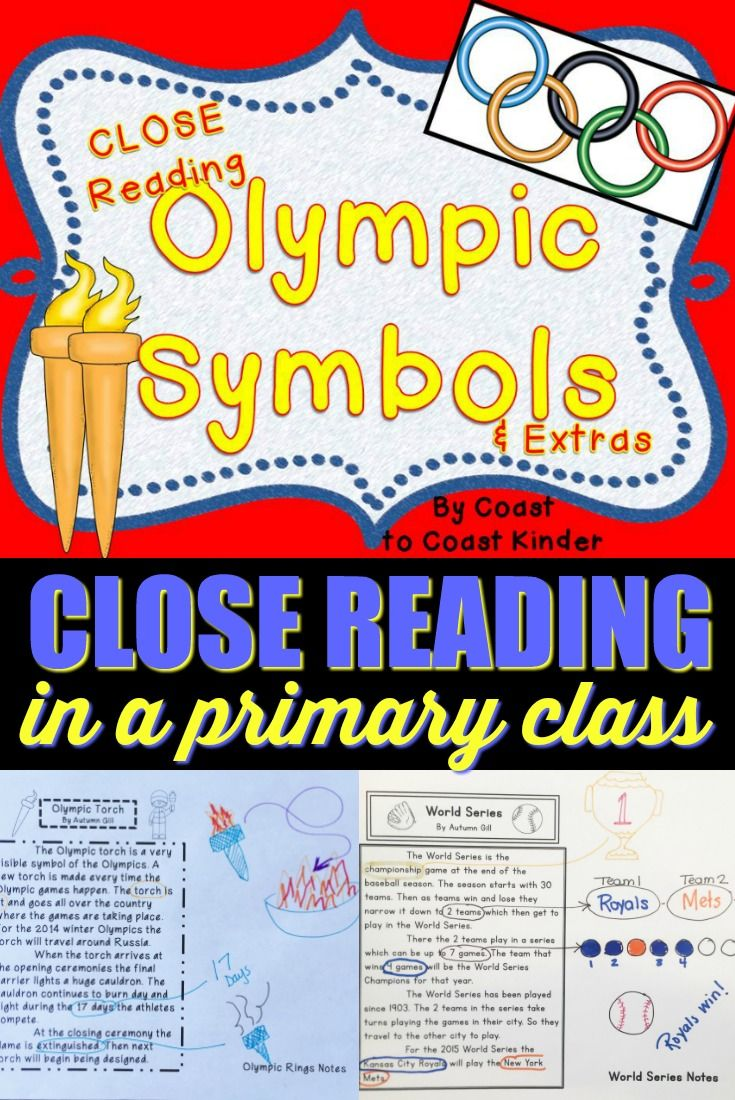 Close Reading That Is Great With The Primary Grades There Are 2