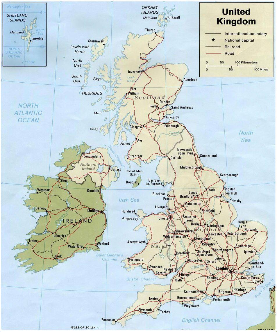 Gran Bretana Mapa Politico.Mapa De Gran Bretana Mapa Fisico Geografico Politico Turistico Y Tematico Gran Bretana Mapa De Gran Bretana Londres Mapa