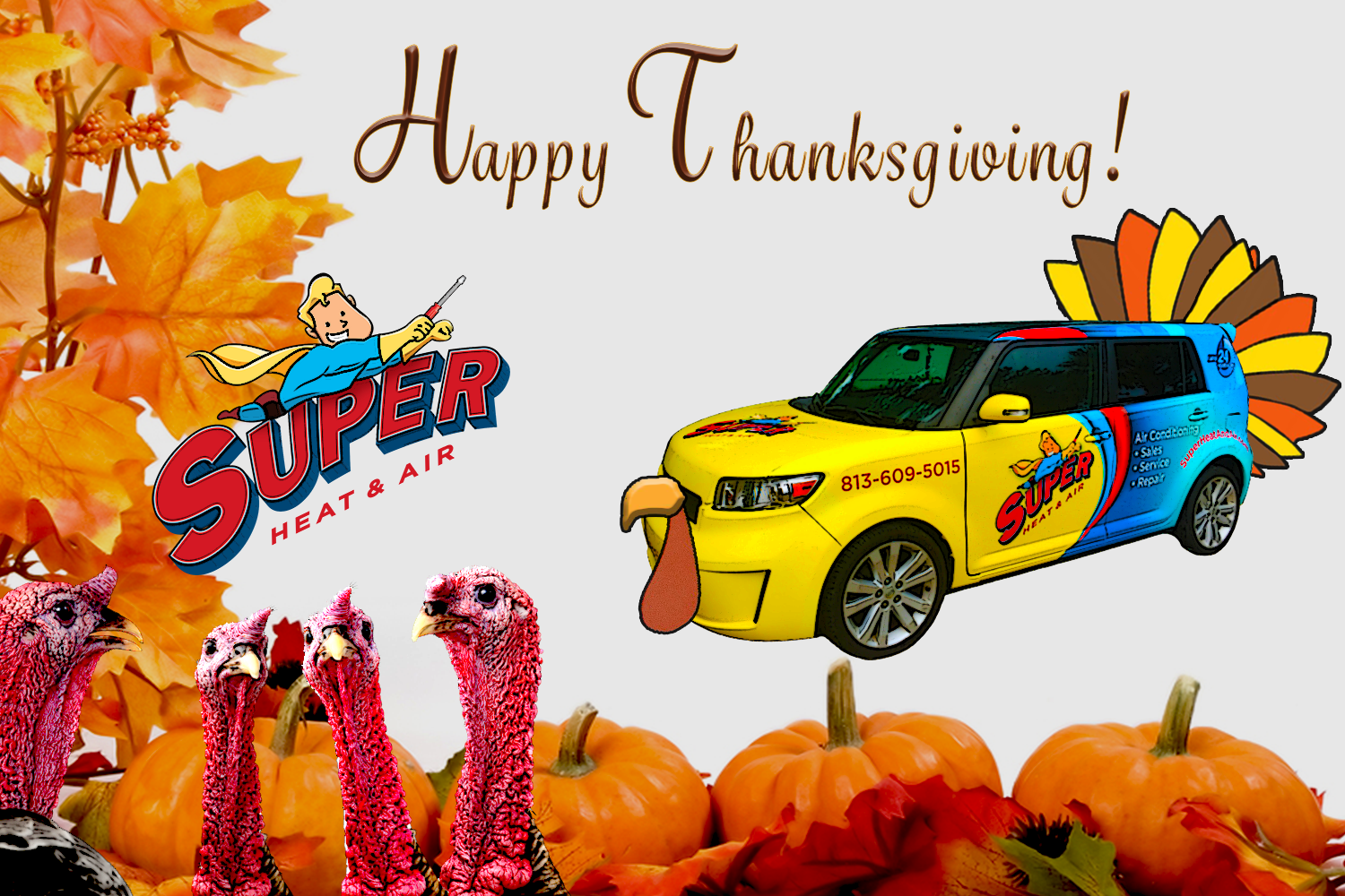 Happy Thanksgiving Eve Tampa Bay! In observance of the