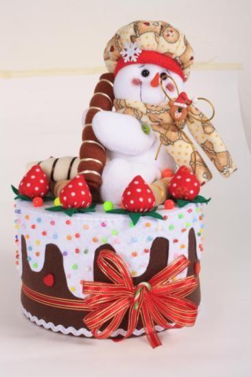 torta nieve fleese le era pa o lency nieves christmas