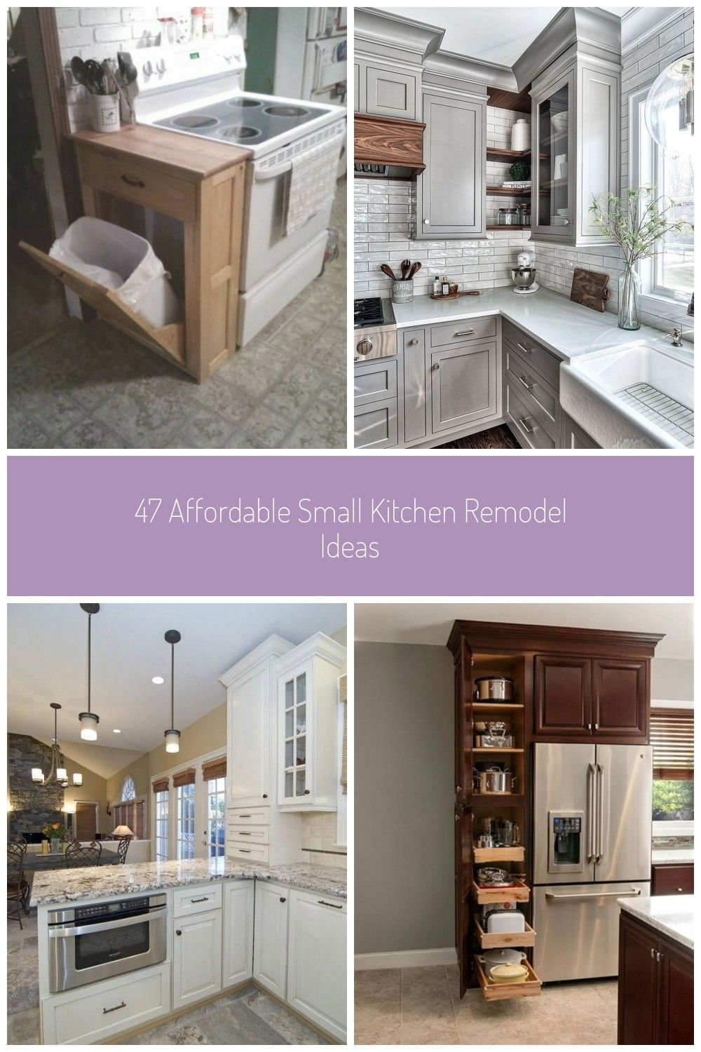 47 Affordable Small Kitchen Remodel Ideas In 2020 Kitchen Remodel Small Kitchen Kitchen Remodel Small