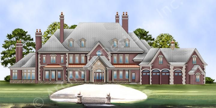 Karol Wood House Plan Castle House Plans House In The Woods House Plans