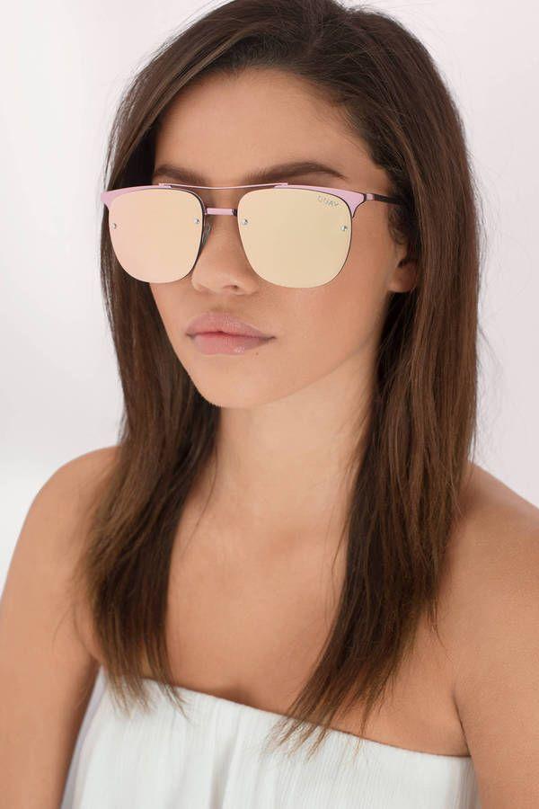 24264ca371d6a Private Eyes Mirrored Sunglasses at Tobi.com  shoptobi