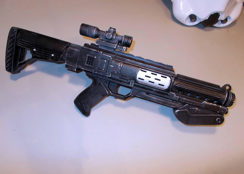 2 of 12 Custom Painted Nerf Gun Cosplay Weapon Transformers