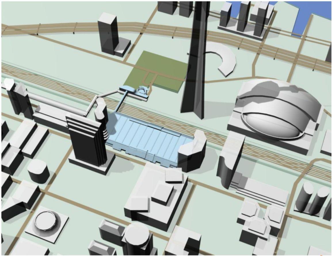 iMap's Interactive Floor Plan for the Metro Toronto Convention Center - Exterior.